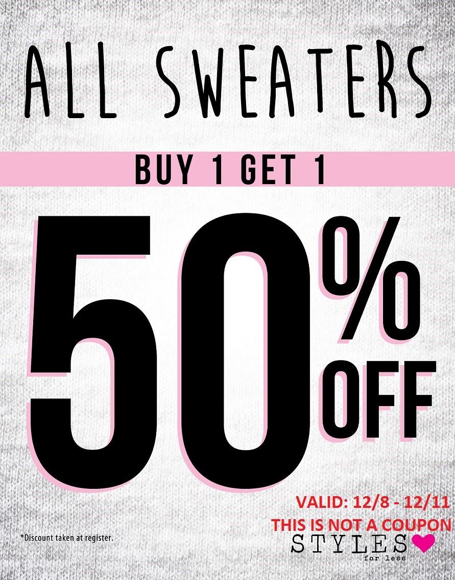 thumbnail_SFL - B1G1 50%25 Off All Sweaters