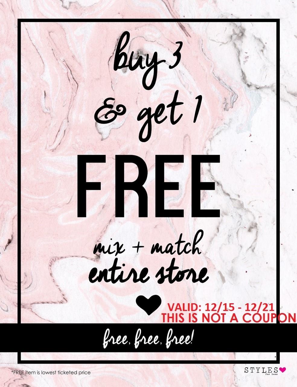 thumbnail_SFL - Buy 3 Get 1 Free