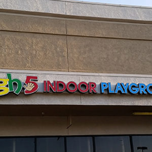 HIGH FIVE INDOOR PLAYGROUND IS NOW OPEN FOR BUSINESS